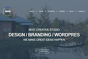 Responsive PSD page layout. CSS, HTML, JS, jQuery 6 - kwork.com