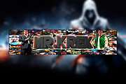 YouTube Channel art 4 - kwork.com