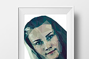 Portrait from a photo in a polygonal style 7 - kwork.com