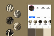 Instagram stories highlights icon design 10 - kwork.com