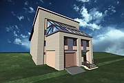 I will draw a 3D model of the building, the object of the territory 6 - kwork.com