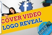 Create a facebook cover video with your logo 3 - kwork.com