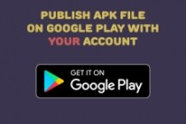 I will properly publish your app on Google Play with YOUR account 3 - kwork.com