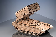 I will make a model of Russian military equipment. Material - plywood 7 - kwork.com