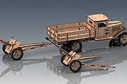 I will make a model of Russian military equipment. Material - plywood 8 - kwork.com
