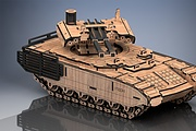 I will make a model of Russian military equipment. Material - plywood 9 - kwork.com