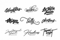 I Will Create An Amazing Signature Logotype For You 3 - kwork.com