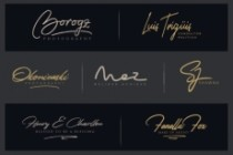 I Will Create An Amazing Signature Logotype For You 4 - kwork.com