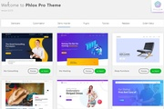 Phlox PRO Wordpress theme, Elementor, premium plugins, child, templates 10 - kwork.com