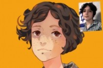 I'll draw you in anime style 3 - kwork.com