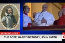 Will wish a happy birthday from the pope Francis 3 - kwork.com