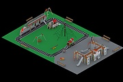 I will make the layout of the playground 15 - kwork.com