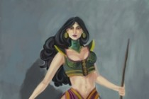 I will draw your character to the digital painting 3 - kwork.com