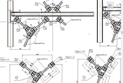 The digitizing drawings, sketches, scans in SolidWorks, AutoCAD 7 - kwork.com