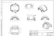 The digitizing drawings, sketches, scans in SolidWorks, AutoCAD 9 - kwork.com