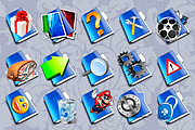 Create design of 8 icons for site 8 - kwork.com